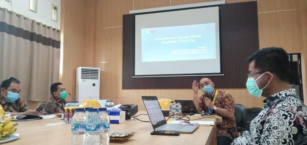 Monitoring dan evaluasi: Mutu Pelayanan kesehatan dalam adaptasi kebiasaan baru (AKB) dari Direktorat Pelayanan Kesehatan Kemenkes RI tgl 8 Desember 2020